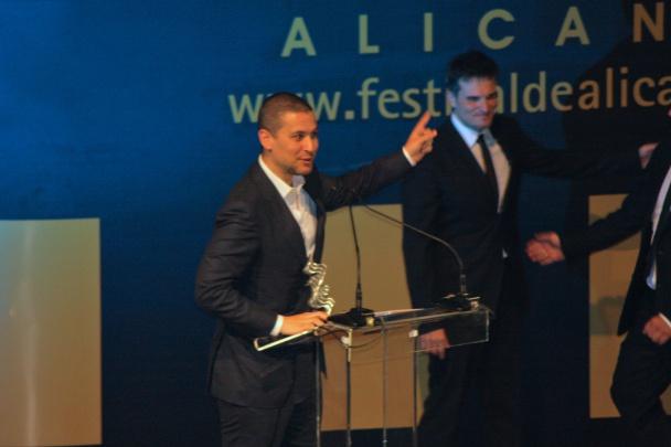 "Rodrigo Cortés agradece el premio ""Lucentum"""