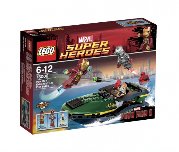 LEGO Extremis Sea Port Battle