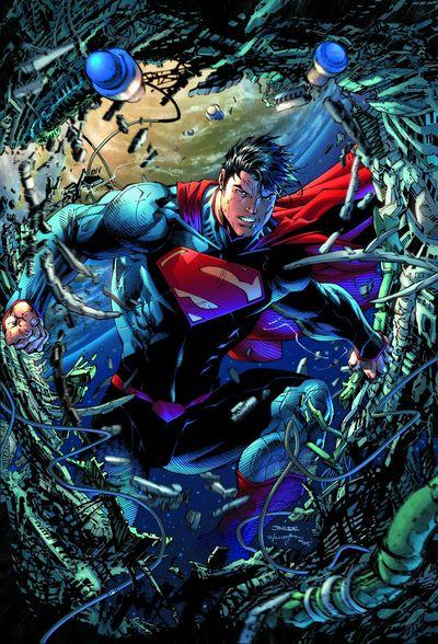Portada de Superman Unchained #1