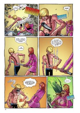 Invencible Presenta Atom Eve y Rex Splode