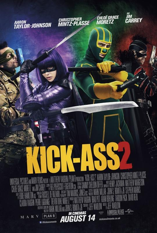 póster grupal Kick-Ass 2