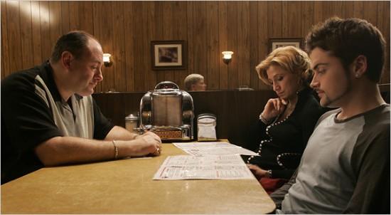 Los Sopranos escena final