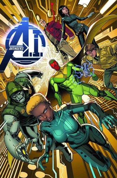 Portada de Avengers A.I. #1
