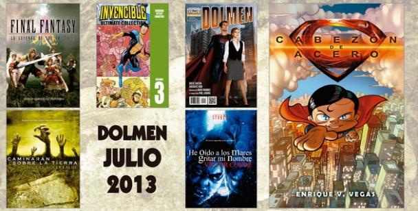 Novedades Dolmen Julio 2013