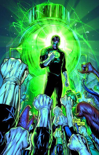 Portada de Green Lantern #21