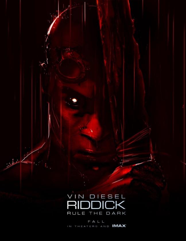 póster riddick