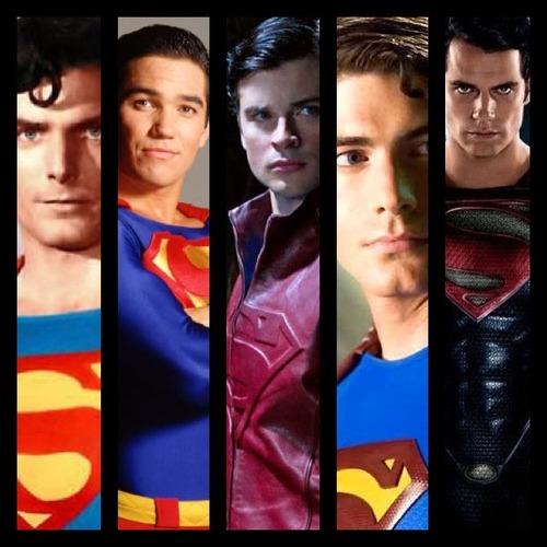 Los rostros de Superman