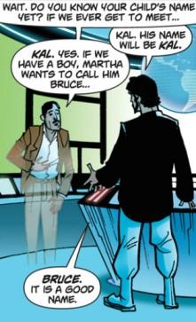 Jor-El y Thomas Wayne