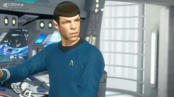 Spock, de cerca
