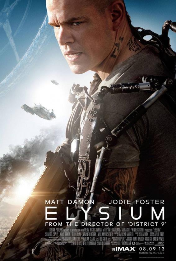Elysium nuevo póster