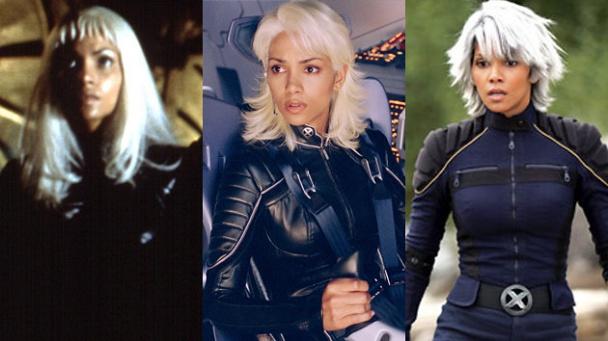 Halle Berry como Tormenta en X-Men 1, 2 y 3