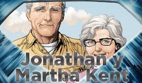 Jonathan y Martha Kent