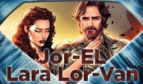 Jor-El y Lara Lor-Van