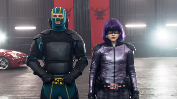 Kick ass y Hit girl