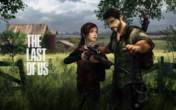 last of us joel enseña a ellie a disparar