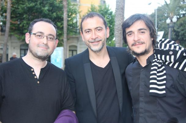 El que escribe la noticia, Santiago Molero y Borja Echeverría