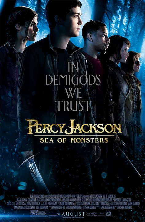 percy jackson sea of monsters group poster