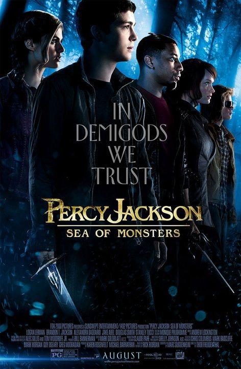 Percy Jackson y el mar de los monstruos póster 2