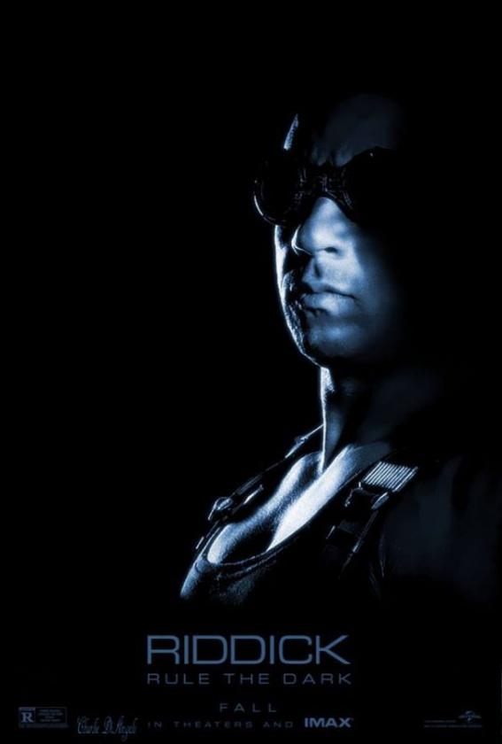 Póster IMAX de Riddick