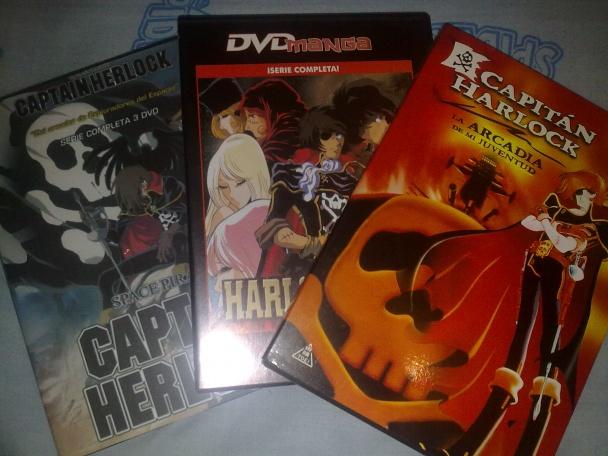 Colección de series y película del capitán Harlock