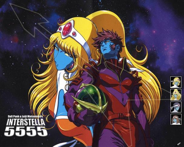 """Imagen de """"Interstella 5555"""", colaboración de Matsumoto con Daft Punk"""