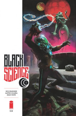 Portada Black Science #1