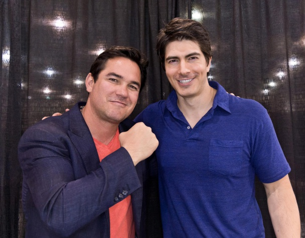 Brandon Routh y Dean Cain