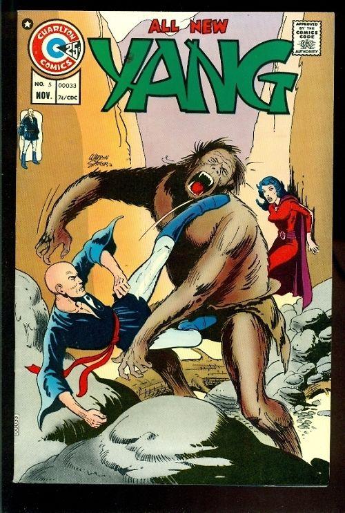 Charlton-Comics-Yang-5-Kung-Fu-1974-Mint