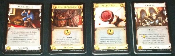 Dominion prosperidad acunador contrabando sello real cripta