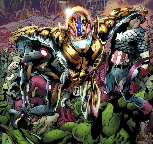 Imágen de Ultron contra Los Vengadores