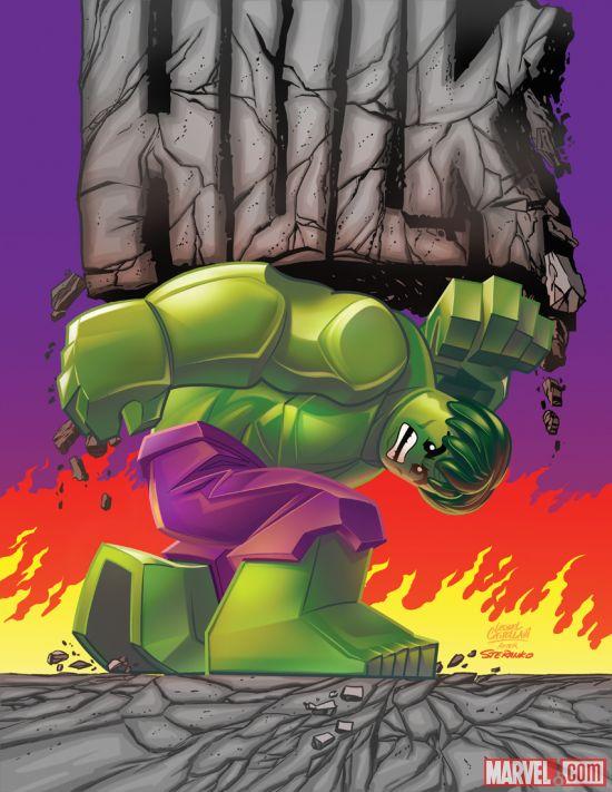 Portada Alternativa de Indrestructible Hulk #14