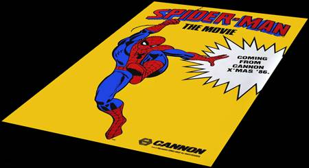 Spiderman de Cannon films