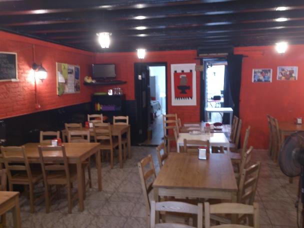 Interior de la Taverna