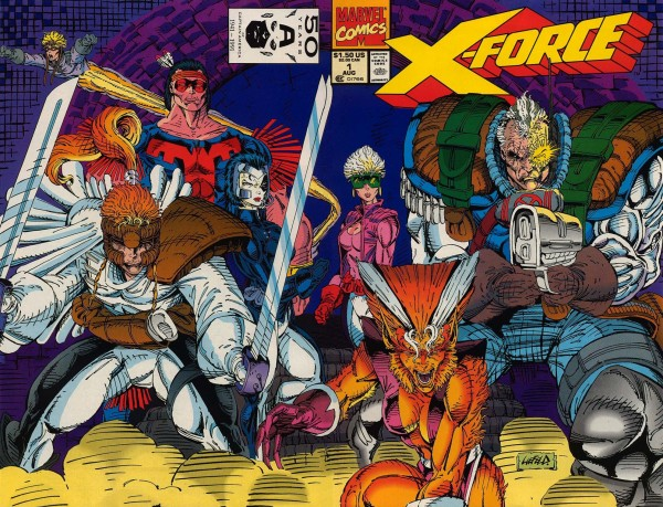 X Force Vol 1 1 Wraparound Cover