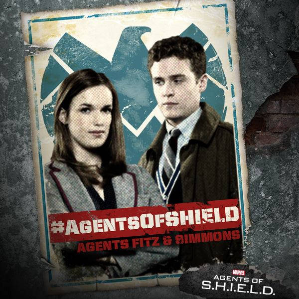 Agentes Fitz y Simmons