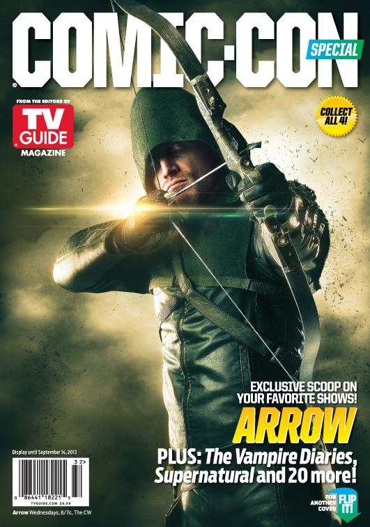 arrow comic con cover