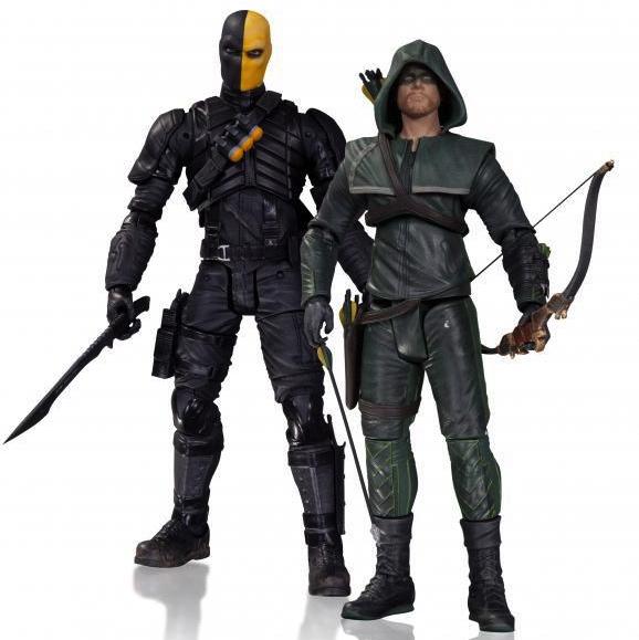 Deathstroke y Green Arrow