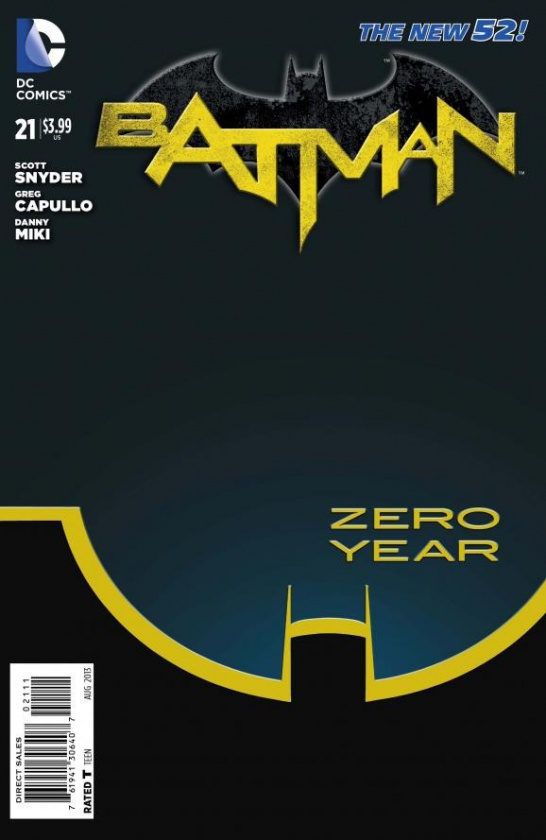 Batman Año Zero