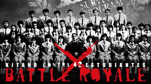 La película adaptaba de manera libre alguna de sus tramas, dando más protagonismo a la figura del profesor, interpretado por Takeshi Kitano