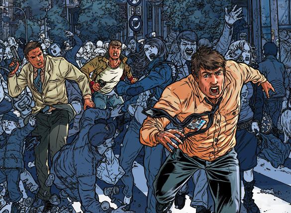 clone comic image skybound kirkman tv serie
