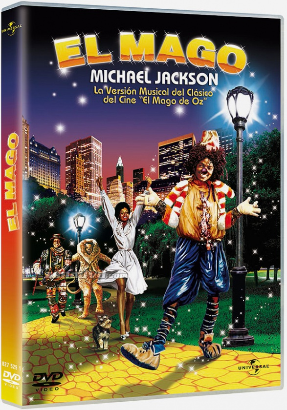 "Sí, señores. El dvd de la película ""The Wiz"" interpretada por Michael Jackson y Donna Summer"