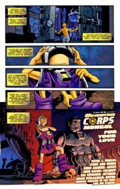 Green Lantern Corps: Fin de una era
