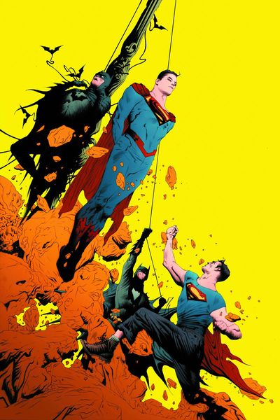 Portada de Batman Superman #2