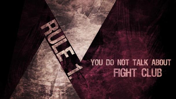 regla 1 de el club de la lucha
