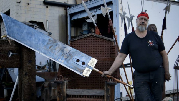 Tony Swatton y la Buster Sword de FFVII