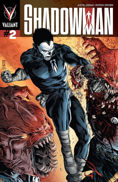 Portada americada de Shadowman #2