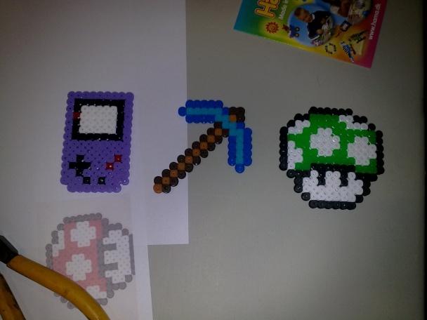 Unos amigos se lo pasaron bomba creando algunas figuras de videojuegos