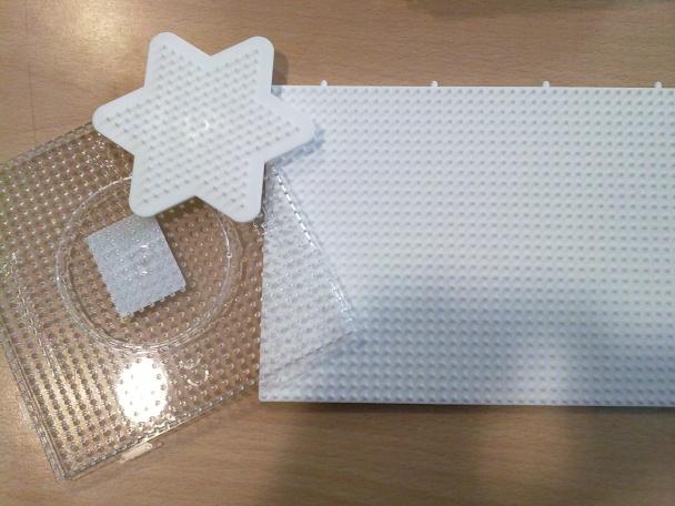 Diferentes placas o planchas para colocar las beads y crear tu figura