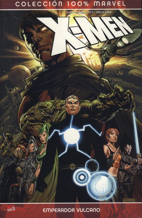 Portada de X-Men: Emperador Vulcano