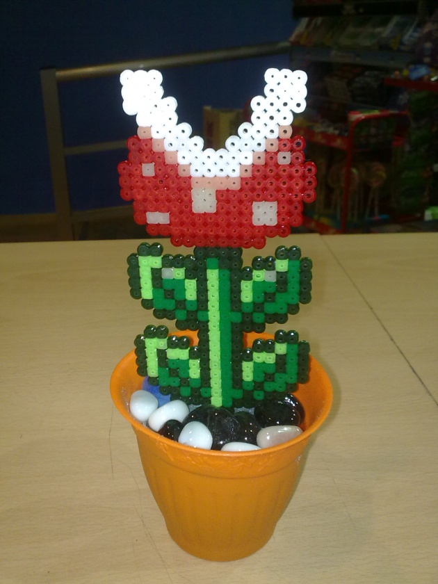 Planta carnívora de Super Mario, esta vez, plana